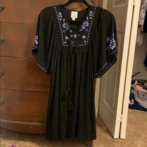 Black dress from francescas